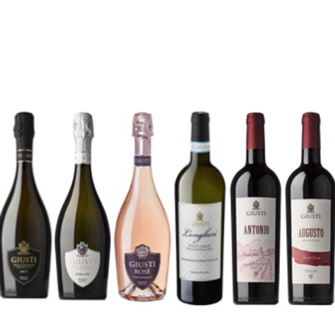 """6 bottiglie - Cassa mista Giusti Wine:""""LE COLLINE DEL MONTELLO"""""""