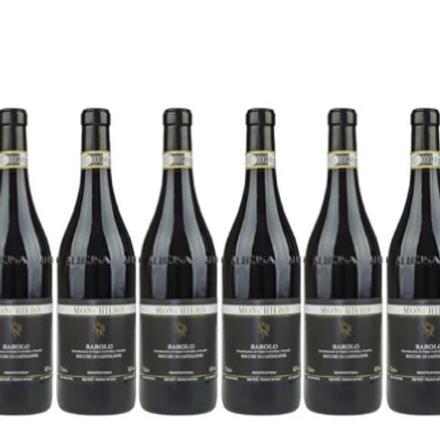 6 bottiglie - Barolo ROCCHE DI CASTIGLIONE 2016 - Monchiero