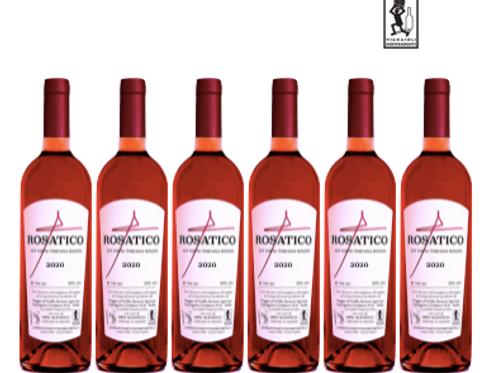 6 bottiglie - Costa Toscana Rosato ROSATICO 2020 - Poggio al Grillo