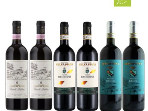 """6 bottiglie - Cassa mista Fattoria Selvapiana: """"LA GRANDE RUFINA"""""""