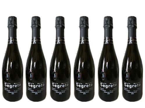 6 bottiglie -  Spumante Metodo Classico Brut SEGRETO 2017 – Tenuta Mariani