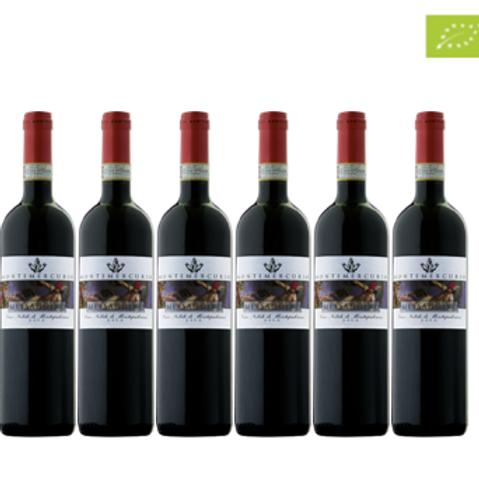 6 bottiglie - Vino Nobile di Montepulciano MESSAGGERO 2016 - Montemercu