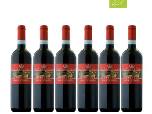 6 bottiglie - Rosso di Montepulciano PETASO 2019 - Montemercurio