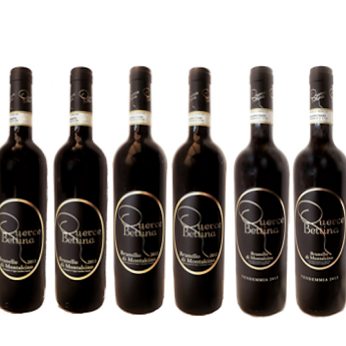 6 bottiglie di Brunello di Montalcino 2011 - Querce Bettina