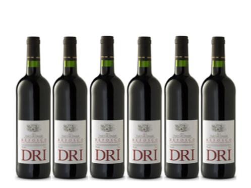 6 bottiglie - FCO Refosco dal Peduncolo Rosso Doc 2014 - Giovanni Dri Il Roncat