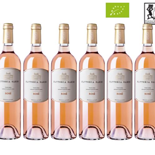 6 bottiglie - Toscana Rosato ROSÉ 2019 - Fattoria Sardi