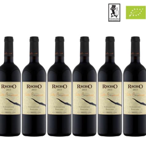 6 bottiglie - Toscana Sangiovese RECISO 2016 - Pietro Beconcini