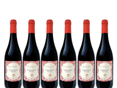 6 bottiglie - Toscana Ciliegiolo 2019 - Fattoria di Piazzano