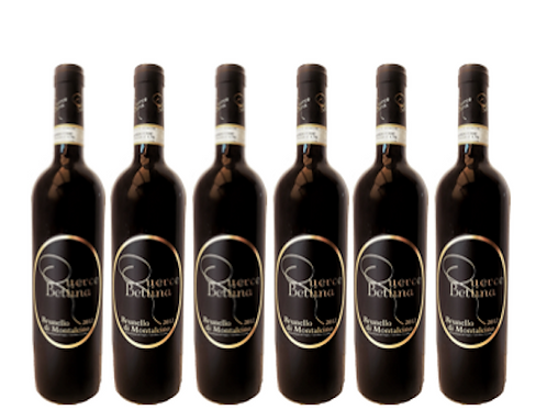 6 bottiglie di Brunello di Montalcino 2012 - Querce Bettina