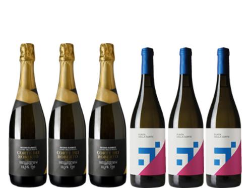 """6 bottiglie - Cassa mista Corte dei Roberto:""""L'IRPINIA CHE NON CONOSCEVI"""""""
