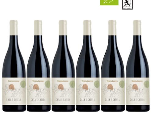 6 bottiglie - Colline Lucchesi Merlot CASA E CHIESA 2019 - Tenuta Lenzi
