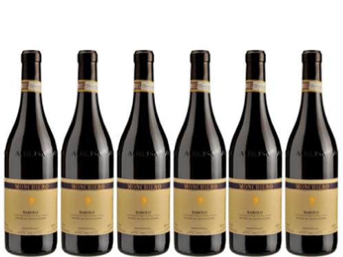 6 bottiglie - Barolo ROERE DI SANTA MARIA 2015 - Monchiero