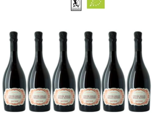 6 bottiglie - Vino Spumante Brut Rosé CUVÉE DELLE BELLE DONNE - Fattoria Sardi