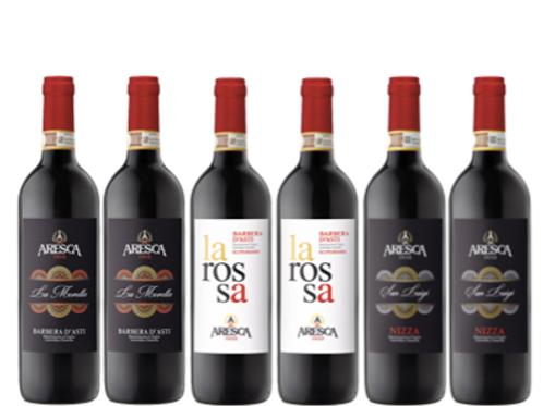 """6 bottiglie - cassa mista Aresca:""""LE SFUMATURE DELLA BARBERA"""""""