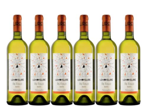 6 bottiglie - Toscana Bianco RE FOLO 2017 - Le Novelire