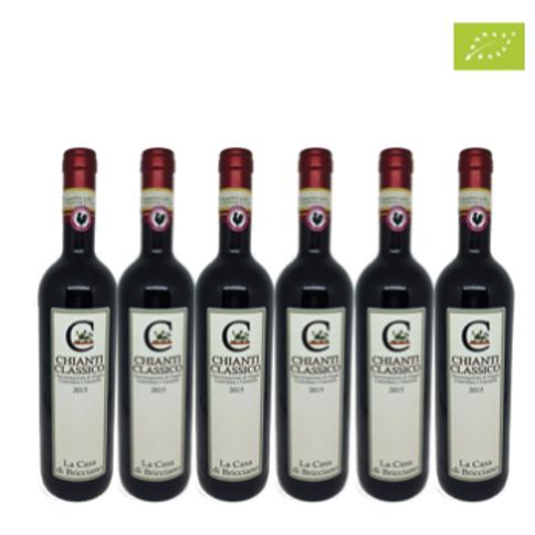 6 bottiglie - Chianti Classico 2017 - La Casa di Bricciano