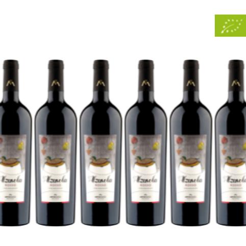 6 bottiglie - Vino rosso ALZAVOLA 2017 - Menicucci