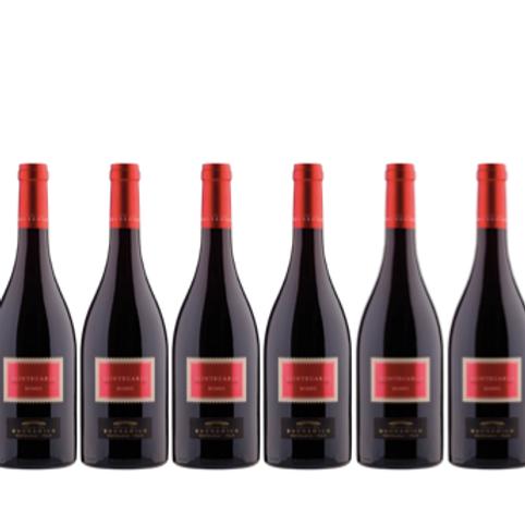 6 bottiglie -  Montecarlo Rosso 2018 - Tenuta del Buonamico