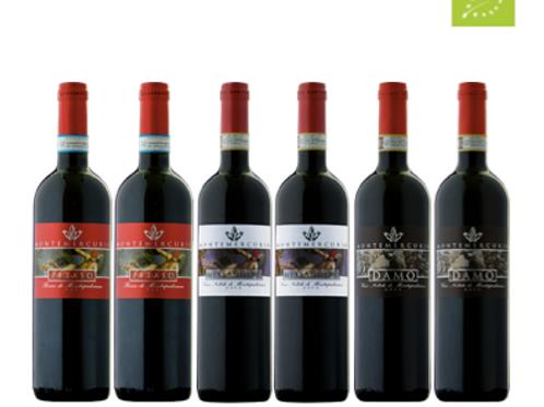 """6 bottiglie - Cassa mista Montemercurio:""""IL TERROIR DI MONTEPULCIANO"""""""