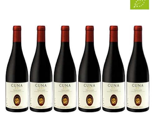 6 bottiglie - Toscana IGT CUNA 2017 - Cuna di Federico Staderini