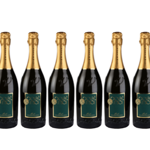 6 bottiglie - Valdobbiadene Prosecco Superiore Brut 2019 - Poet & Mioi