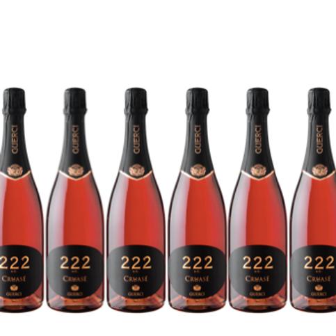 6 bott - Oltrepò Pavese Metodo Classico Pinot Nero Brut Cruasé 222 A. C. - Guerc