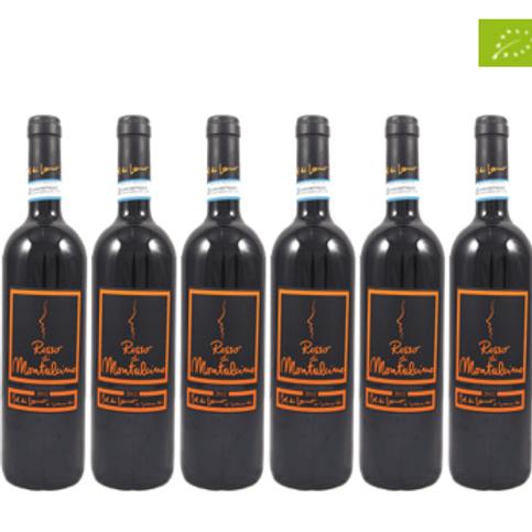 6 bottiglie -  Rosso di Montalcino 2018 - Col di Lamo