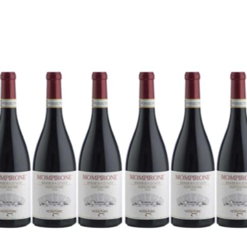 6  bottiglie - Barbera d'Asti Superiore MOMPIRONE 2016 - Cascina Vengore