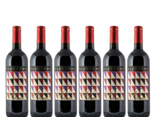 6 bottiglie - Toscana BLEND 2 2016 - Fattoria di Piazzano