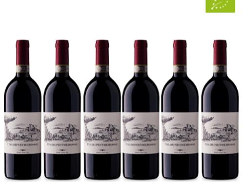 6 bottiglie - Suvereto Cabernet S. COLDIPIETREROSSE 2016 - Bulichella