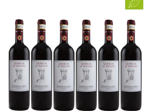 6 bottiglie - Chianti Classico 2018 - Quercia al Poggio