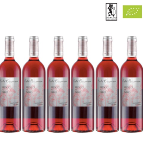 6 bottiglie - Toscana Tempranillo Rosé FRESCO DI NERO 2019 - Pietro Bec