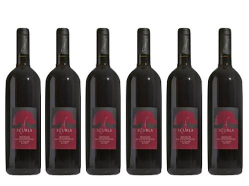 6 bottiglie - Friuli Colli Orientali Refosco dal P.R.  2016 - Scubla