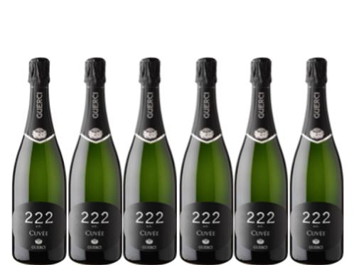 6 bottiglie - Oltrepò Pavese Metodo Classico Pinot Nero Brut 222 A. C. - Guerci