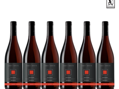 6 bottiglie - Colli Tortonesi Monleale Barbera QUADRO 2015 - Vigneti Repetto