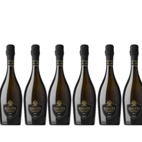 6 bottiglie -  Asolo Prosecco Superiore Brut - Giusti Wine