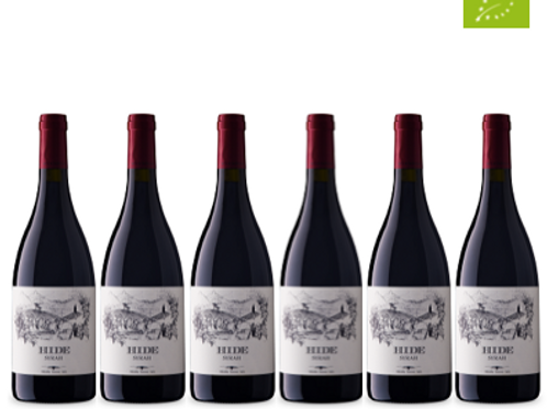 6 bottiglie - Costa Toscana Syrah HIDE 2016 - Bulichella