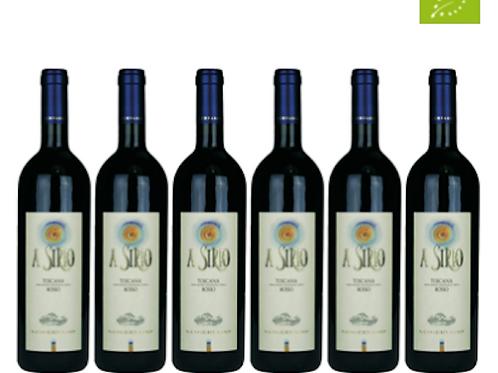 6 bottiglie - Toscana Rosso A SIRIO 2015 - Sangervasio