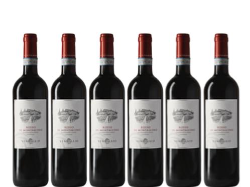 6 bottiglie - Rosso di Montalcino 2018 - Ventolaio