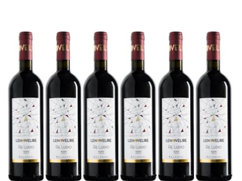 6 bottiglie - Bolgheri RE LUDIO 2017 - Le Novelire