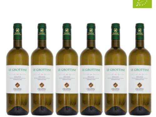 6 bottiglie - Toscana Vermentino LE GROTTINE 2020 - Chiappini