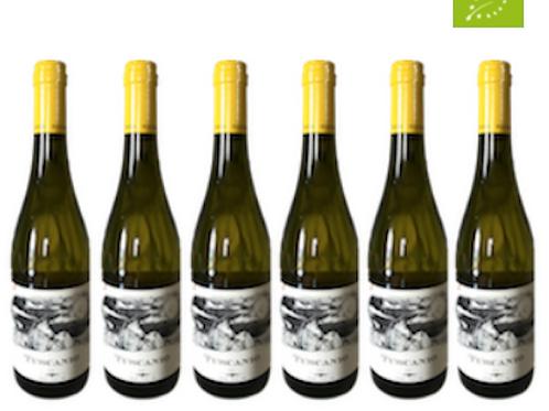 6 bottiglie - Costa Toscana Bianco TUSCANIO 2019 - Bulichella