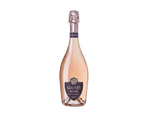 Vino Spumante Brut Rosé - Giusti Wine