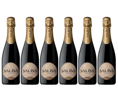 6 bottiglie - Trento Brut SALÍSA 2015 - Villa Corniole