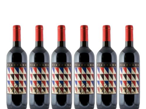 6 bottiglie - Toscana BLEND 1 2015 - Fattoria di Piazzano