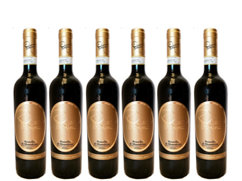 6 bottiglie - Brunello di Montalcino 2012 Riserva - Querce Bettina
