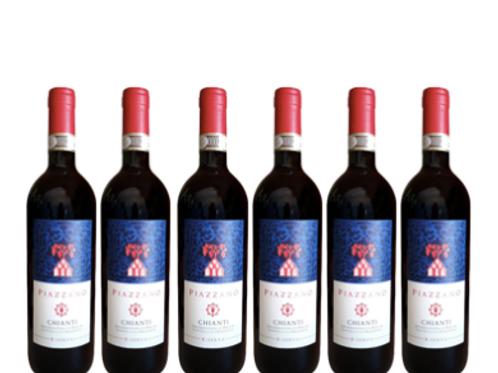 6 bottiglie - Chianti Riserva PIAZZANO 2017 - Fattoria di Piazzano