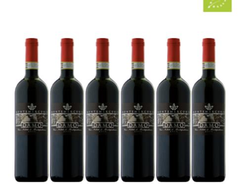 6 bottiglie - Vino Nobile di Montepulciano DAMO 2011 - Montemercurio