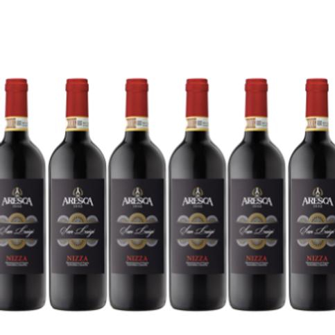 6 bottiglie - Nizza SAN LUIGI 2016  - Aresca