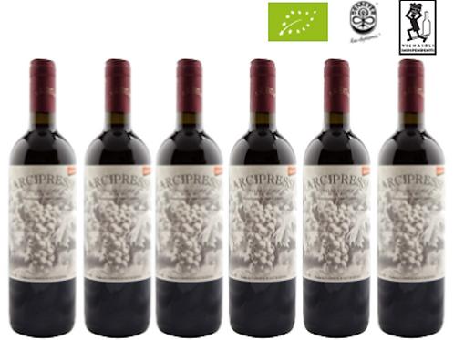 6 bottiglie - Colline Lucchesi ARCIPRESSI 2016 – Fabbrica di San Martino